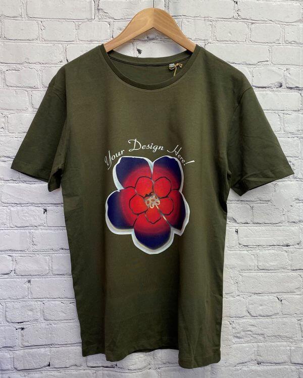 DTG Printed T-Shirt Darm Material